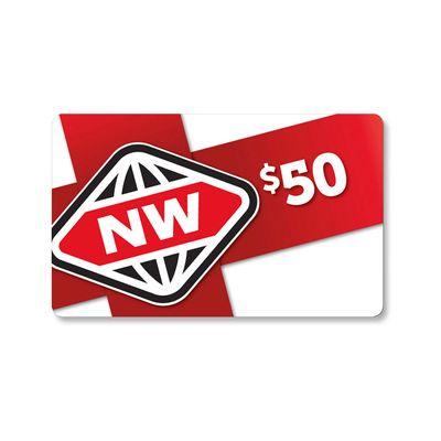 New World $50 Gift Card